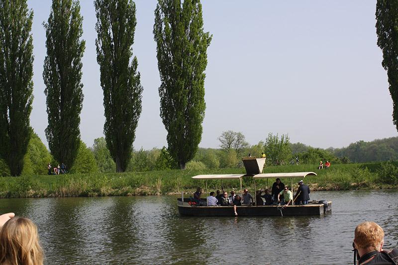 Odemykání řeky Moravy v Hodoníně  123456